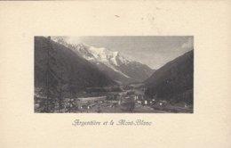 74 ARGENTIERE LE MONT BLANC GLACIER DES BOSSONS VALLEE DE CHAMONIX MONT BLANC  Editeur JULLIEN FRERES - Chamonix-Mont-Blanc