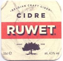 #D239-012 Viltje Ruwet Cidre - Bierdeckel