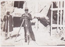 Photographie  Ingénieur Géomètre Mr Robert Villadier Construction Du Chemin De Fer Fez A Oudjda  1930 ( Ref 191387) - Profesiones