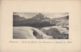 74 LES BOSSONS GROTTE DU GLACIER DES BOSSONS AIGUILLE DU MIDI VALLEE DE CHAMONIX MONT BLANC  Editeur JULLIEN FRERES - Chamonix-Mont-Blanc