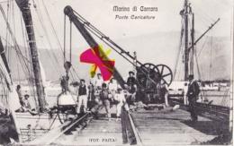Marina Di CARRARA - Ponte Caricatore - (carta Animatta) - Carrara
