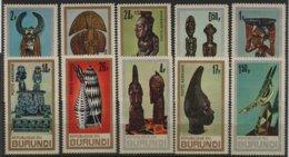 ART 182 - BURUNDI N° 233/37 + PA 52/56 Neufs** Art Africain - Burundi