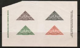 COSTA RICA   Scott # 183** MINT NH Souvenir Sheet (faults) (SS-494) - Costa Rica