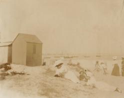 1911 3 Photos Prise à Le Pouliguen - Lieux