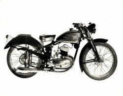 Moto Morini 125cc  24*17 +- Cm Moto MOTOCROSS MOTORCYCLE Douglas J Jackson Archive Of Motorcycles - Coches