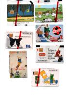 Lot De Télécartes NSB France - Telefonkarten