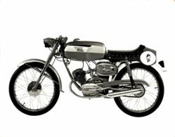 Moto Morini Corsarino 50cc  24*17 +- Cm Moto MOTOCROSS MOTORCYCLE Douglas J Jackson Archive Of Motorcycles - Coches