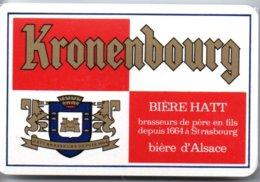 Bière Kronenbourg Beer Jeu De 54 Cartes A Jouer Publicitaire - Playing Card - 32 Kaarten