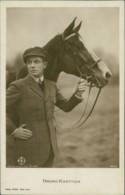 AK Bruno Kastner Mit Pferd (31984) - Chevaux