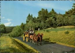AK Bad Kissingen Die Postkutsche (31990) - Horses