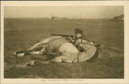 AK Russische Typen - Ein Kosake (31997) - Chevaux
