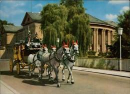 AK Bad Kissingen Postkutsche Vor Dem Regentenbau (32002) - Horses