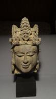 A Fine Stone Head Of Bodhisattva Gupta Period 500-700 A.D From Northern-India - Arte Asiatica