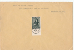 437/30 - Enveloppe TP Memling 512 ANTWERPEN 1939 Vers BREEDENE - Belgium