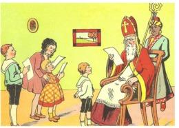 104) Saint-Nicolas - Sinterklaas - Zeer Goede Staat - L'état Très Bon ! - 10 X 15 Cm - San Nicolás