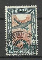 LITHUANIA Litauen 1934 Michel 389 O PANEMUNE Nice Cancel - Lithuania