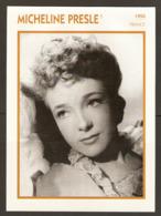 PORTRAIT DE STAR 1950 FRANCE - ACTRICE MICHELINE PRESLE - ACTRESS CINEMA FILM PHOTO - Fotos