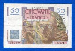 50  Fr  Du  8/4/1948 - 1871-1952 Gedurende De XXste In Omloop