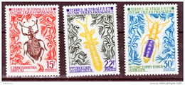 TAAF    49 51  Insectes 1973 25% De Cote   Neuf ** MNH Sin Charmela Cote 59 - Unused Stamps