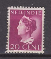Nederlands Indie Dutch Indies 277 Used ; Wilhelmina 1941 1902 NETHERLANDS INDIES PER PIECE - Nederlands-Indië