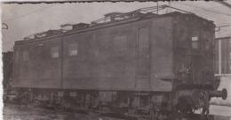 ¤¤   -   Petite Carte-Photo D'une Locomotive Electrique  -  Chemin De Fer    -  Voir Description   -  ¤¤ - Matériel
