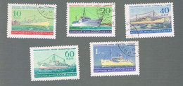 URSS - SG 2326.2631 - 1959   RUSSIAN LINERS (COMPLET SET OF 6)  - USED° - Usados