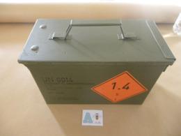 Caisse Munitions Métallique 7,62X51 Mm   (A) - Equipment