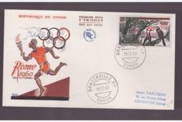 Congo - 15 12 1960 Fdc Olimpiadi - Sommer 1960: Rom