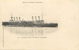 Themes Div-ref BB891- Bateaux - Bateau Marine Militaire De Guerre - Jeanne D Arc , Croiseur Cuirassé - - Guerre