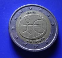 SPAIN 2 Euro  2009 EMU Coin  CIRCULATED 499 - 4- 69 - Spanien