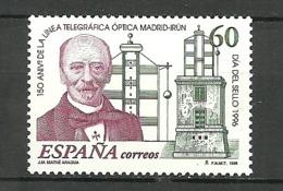 ESPAÑA 1996 Dia Del Sello   EDIFIL 3410 ** MNH - 1931-Heute: 2. Rep. - ... Juan Carlos I
