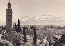 Marrakech (Maroc) - Panorama Avec Atlas - Marrakech