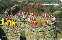 SOUTH KOREA - Castle Of Town/Cheonbuk(W3000), Tirage 60000, 05/95, Used - Corée Du Sud