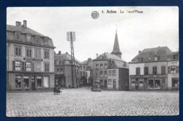 Arlon. Grand Place. Droguerie Centrale M. Kihl. Café Du Centre. Plombier - Zingueur Maul Lommel. 1932 - Arlon