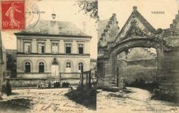 AISNE  BLERANCOURT   Mairie Et écoles - France