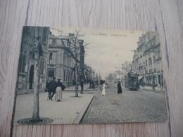 CPA 51 Marne Reims Avenue De Laon Tram Tramway - Reims