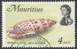 Mauritius. 1969 Sealife. 4c Used. SG 384 - Mauritius (1968-...)