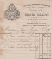** HENRI BEZIAT.- PARIS.- 1881.-** - 1800 – 1899