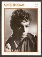 PORTRAIT DE STAR 1950 FRANCE - ACTEUR SERGE REGGIANI - ACTOR CINEMA FILM PHOTO - Fotos
