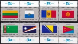 UNO-New York, 1999,  797/04,  MNH **,   Flaggen Der UNO-Mitgliedstaaten (XIII). - New York – UN Headquarters