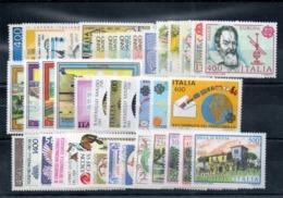 Italia  1983 - Annata 1983 Completa Sottofacciale MNH ** Leggere Descrizione - Annate Complete