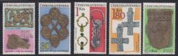 Tchécoslovaquie 1969 1744-48 * Découvertes Archéologiques - Tchécoslovaquie