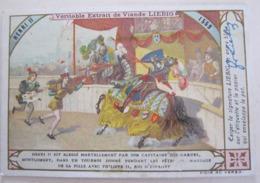 CHROMO LIEBIG S_ 0646 HISTOIRE DE FRANCE ROIS ET REINES : HENRI II EST BLESSÉ MORTELLEMENT PAR MONTGOMERY - Liebig
