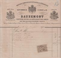 ** BAUZEMONT.- PARIS.- 1871.-** - 1800 – 1899