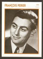 PORTRAIT DE STAR 1950 FRANCE - ACTEUR FRANCOIS PERIER - ACTOR CINEMA FILM PHOTO - Fotos