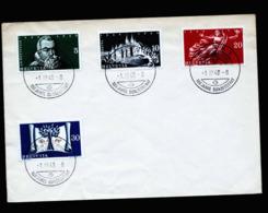 A6394) Schweiz Umschlag Mit Mi.496-499 Sonderstempel Bern 01.03.48 - Covers & Documents