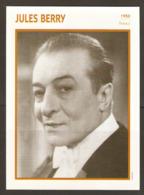 PORTRAIT DE STAR 1950 FRANCE - ACTEUR JULES BERRY - ACTOR CINEMA FILM PHOTO - Fotos