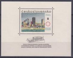 Tchécoslovaquie 1967 BL 30 ** Exposition Montréal - Blocs-feuillets