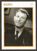 PORTRAIT DE STAR 1950 FRANCE - ACTEUR BOURVIL - ACTOR CINEMA FILM PHOTO - Fotos