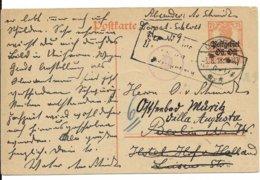 Oberbefehlshaber Ost - W.O.I. Briefkaart Van 3.8.18 Van DORPAT Naar Duitsland - Allemagne